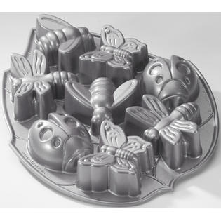 Nordic Ware Backyard Bugs Cake Pan. Cast Aluminum Commercial Non-Stick Coating at Sears.com