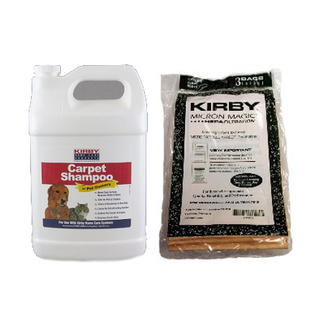 Replacement Kirby Generation 3 Carpet Shampoo Pet Solution and Microfilter Bags Cleaning Kit at Sears.com