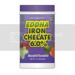 Growmore EDDHA Iron Chelate 6% 1-pound at Sears.com