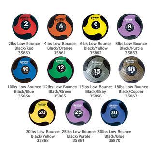 AEROMAT Elite Deluxe Medicine Ball, Low Bounce - 18 LB (35867) at Sears.com