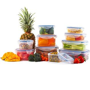 Hutt 32-Piece Food Storage Container set w/ Air & Water Seals, BPA-Free, Microwave, Dishwasher & Freezer Safe at Sears.com