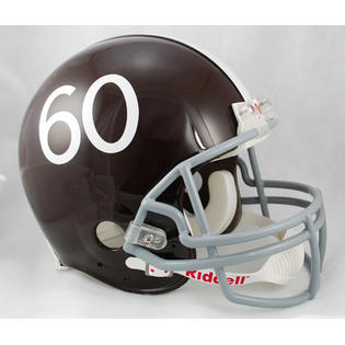 creative sports RD-BRONCOS6061-A Denver Broncos 1960-1961 Throwback Riddell Full Size Authentic Proline Football Helmet at Sears.com