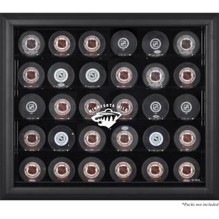 Mounted Memories 30 Hockey Puck Logo Display Case - Team: Florida Panthers, Color: Black at Sears.com