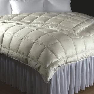 DownTown Company Willow Siberian White Goose Down Comforter - Size: Twin at Sears.com
