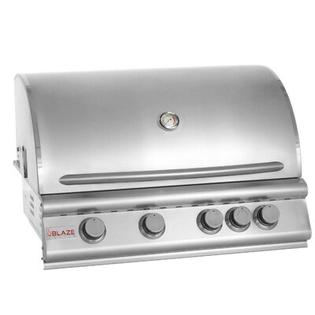 "Blaze Grills 32"" 4-Burner Built-In Gas Grill with Rear Infrared Burner - Gas Type: Natural at Sears.com"