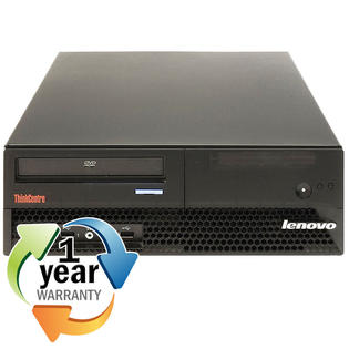 IBM Lenovo REFURBISHED IBM Lenovo ThinkCentre M57p Core 2 Duo 2.3GHz 1GB 80GB DVD Win 7 Pro Desktop at Sears.com